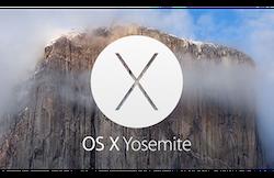 Mac OSX 10.10 Yosemite